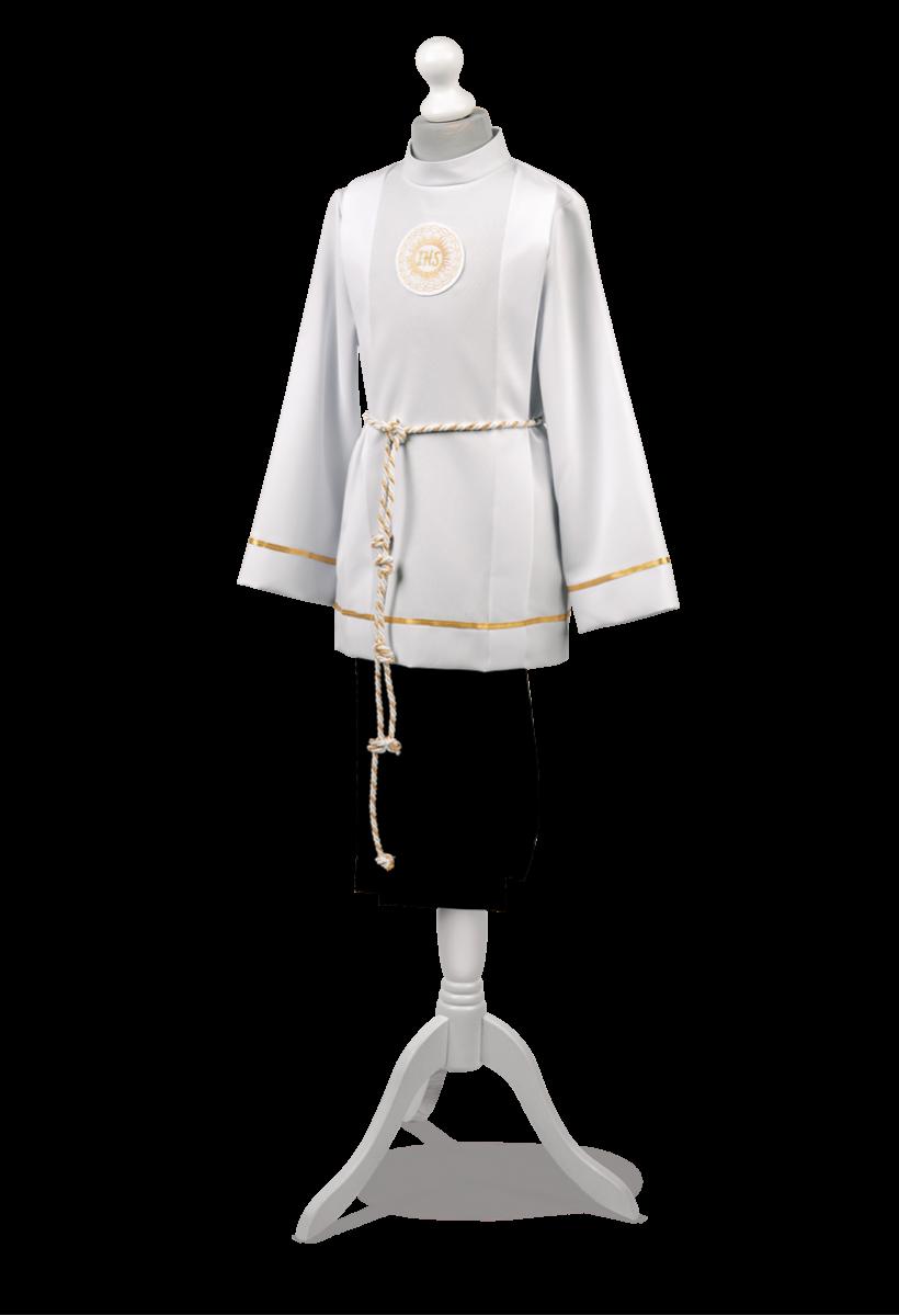 Klasyczny ubiór dla chłopca do pierwszej komunii Bartosz ZŁ-001