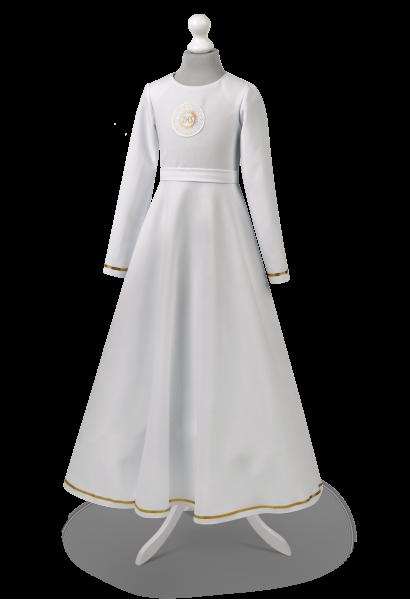 Albo sukienka z długim rękawem Malwina ZŁ-023
