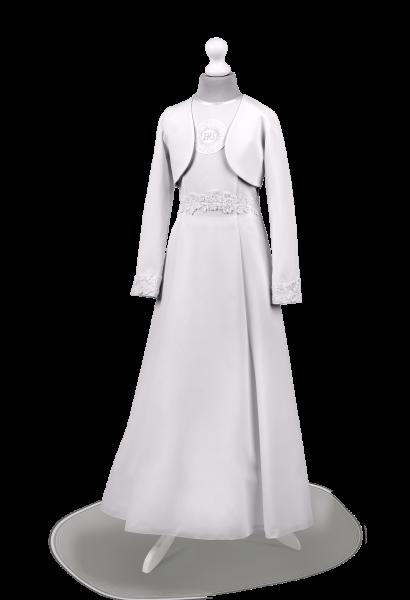 Sukienka komunijna krój cięcia francuskie-Celinka BI-069