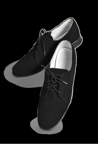 Skórzane, zamszowe buty komunijne, sznurowane