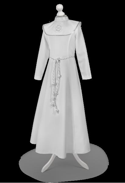 Alba w formie sukienki z długim rękawem Celinka SR-018