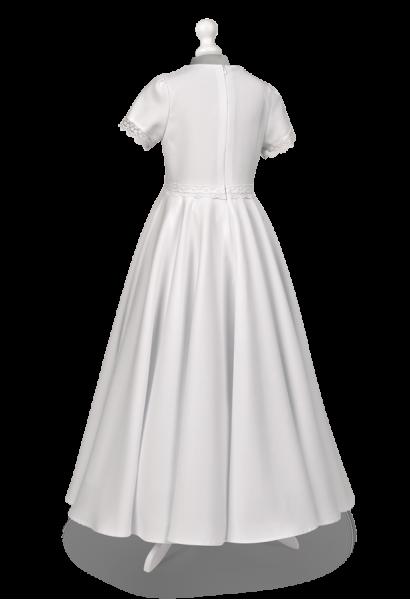 sukienka komunijna z pełnego koła