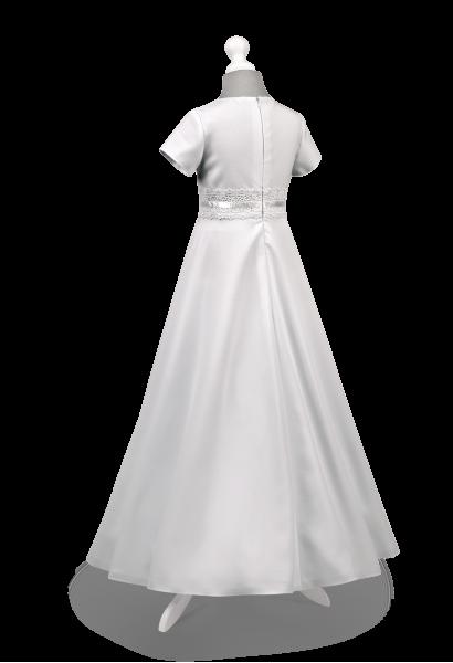 Sukienka komunijna z koronką - Marta BI-029