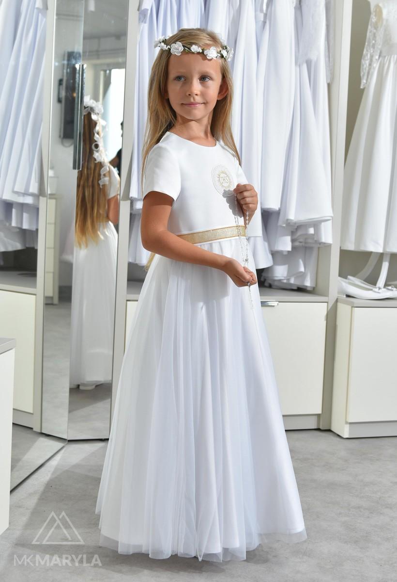 Sukienka komunijna Tosia ZŁ-025