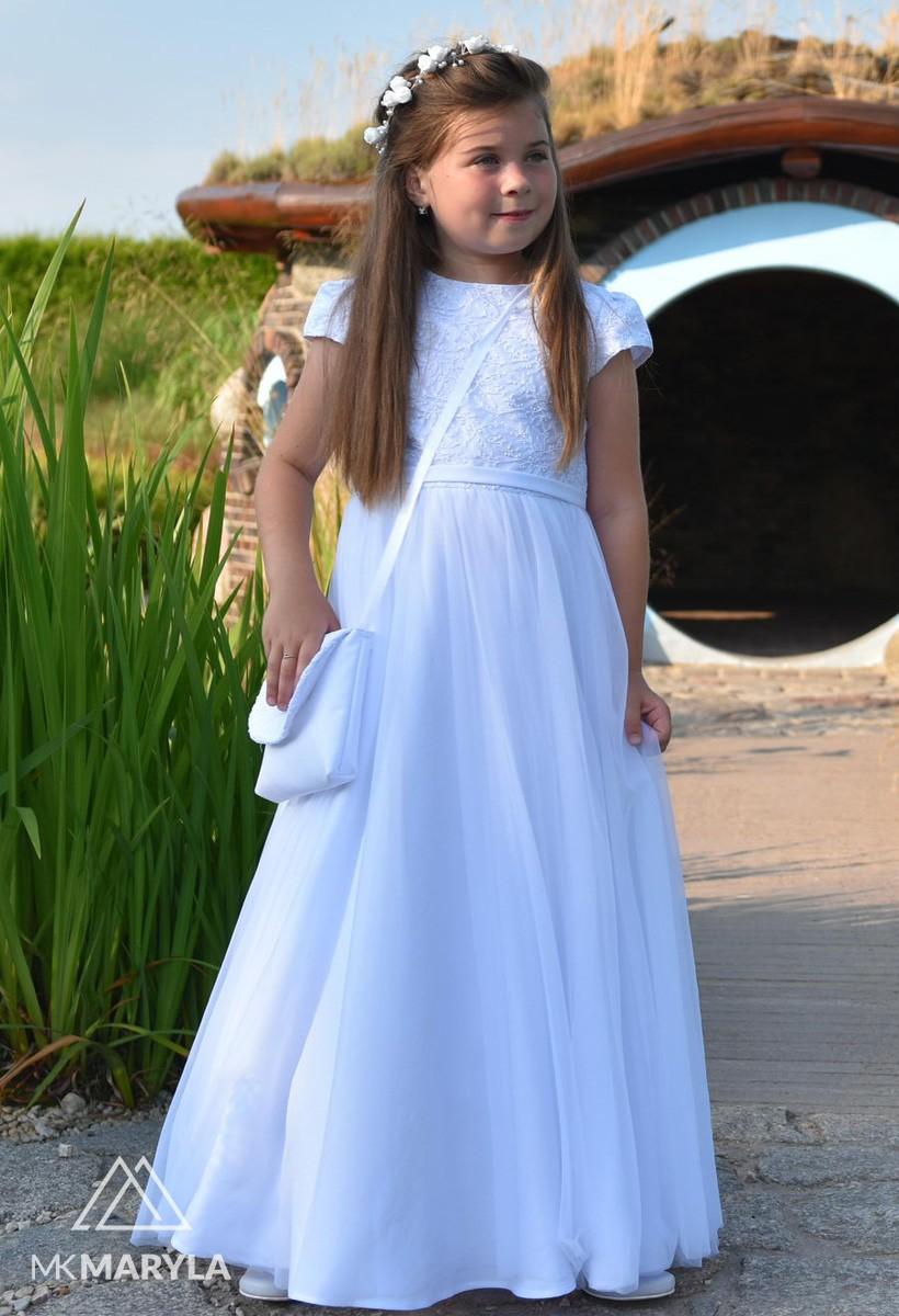 Sukienka komunijna z szyfonem Tosia        BZ-000