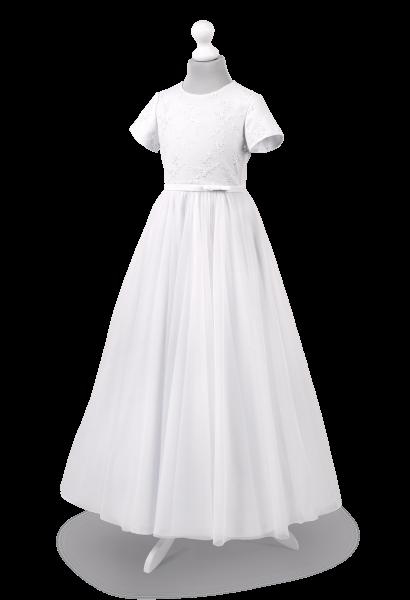 Piękna koronkowa suknia do komunii  Tosia BI-065