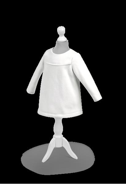 sukienka do chrztu ciepła