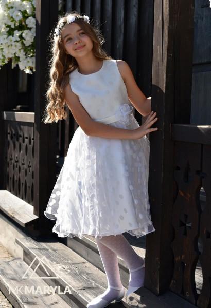 sukienka wizytowa dziewczęca