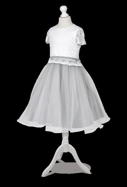 sukienka wizytowa tiul mereżka