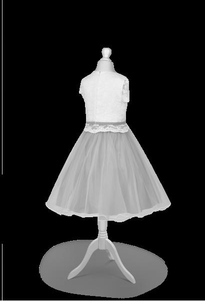 sukienka pokomunijna z tiulem