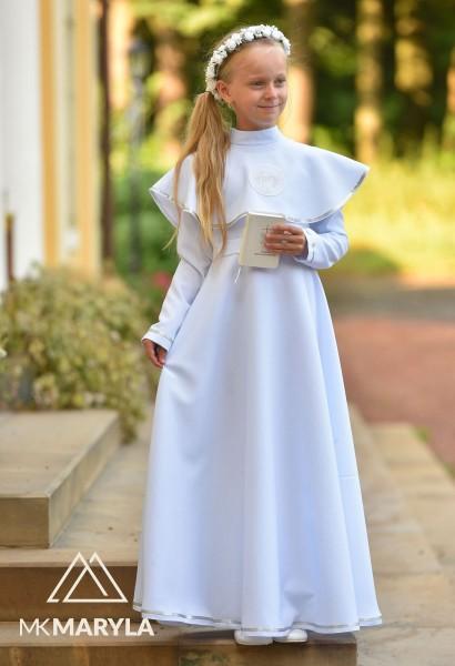 sukienko-alba z kołnierzem