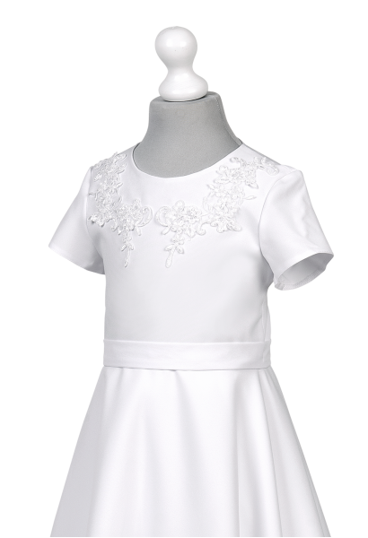 sukienka komunijna strecz