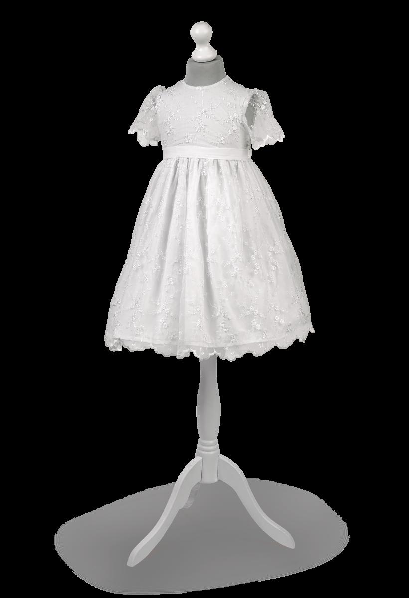 Przepiękna krótka  koronkowa sukienka na uroczystość pierwszej komunii Jasmina