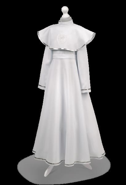 Sukienko-alba ze srebrnym zdobieniem Malwina SR-023