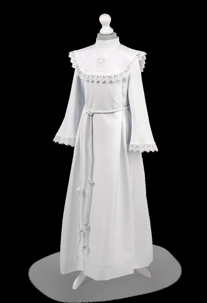 3248b42d45 Alba jest symbolem czystości duszy będącej w stanie łaski uświęcającej. Kolekcja  Hania to klasyczne alby liturgiczne