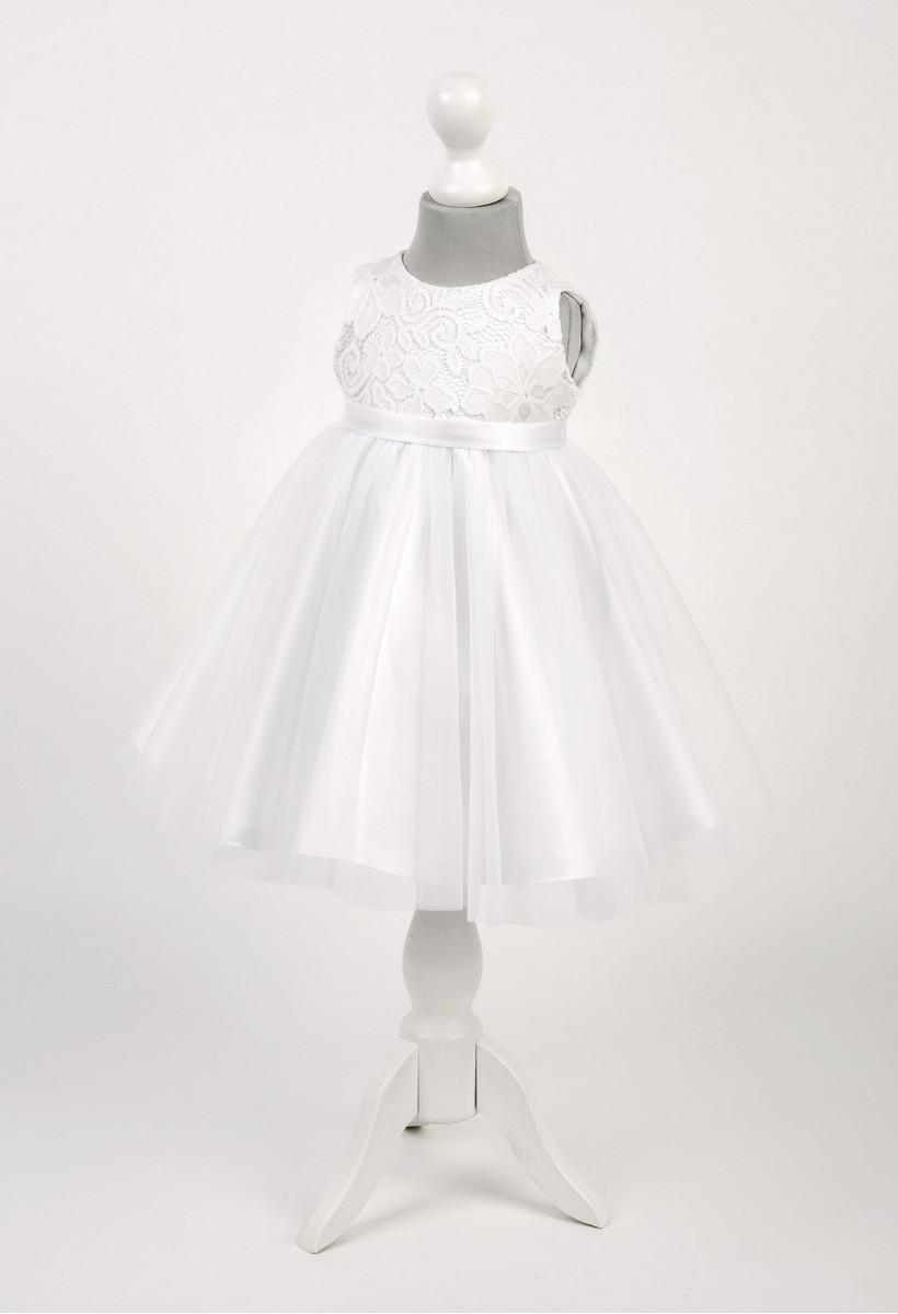 fa11aaae3e Sukienka do chrztu - sukienka na roczek - sukienka chrzcielna ...