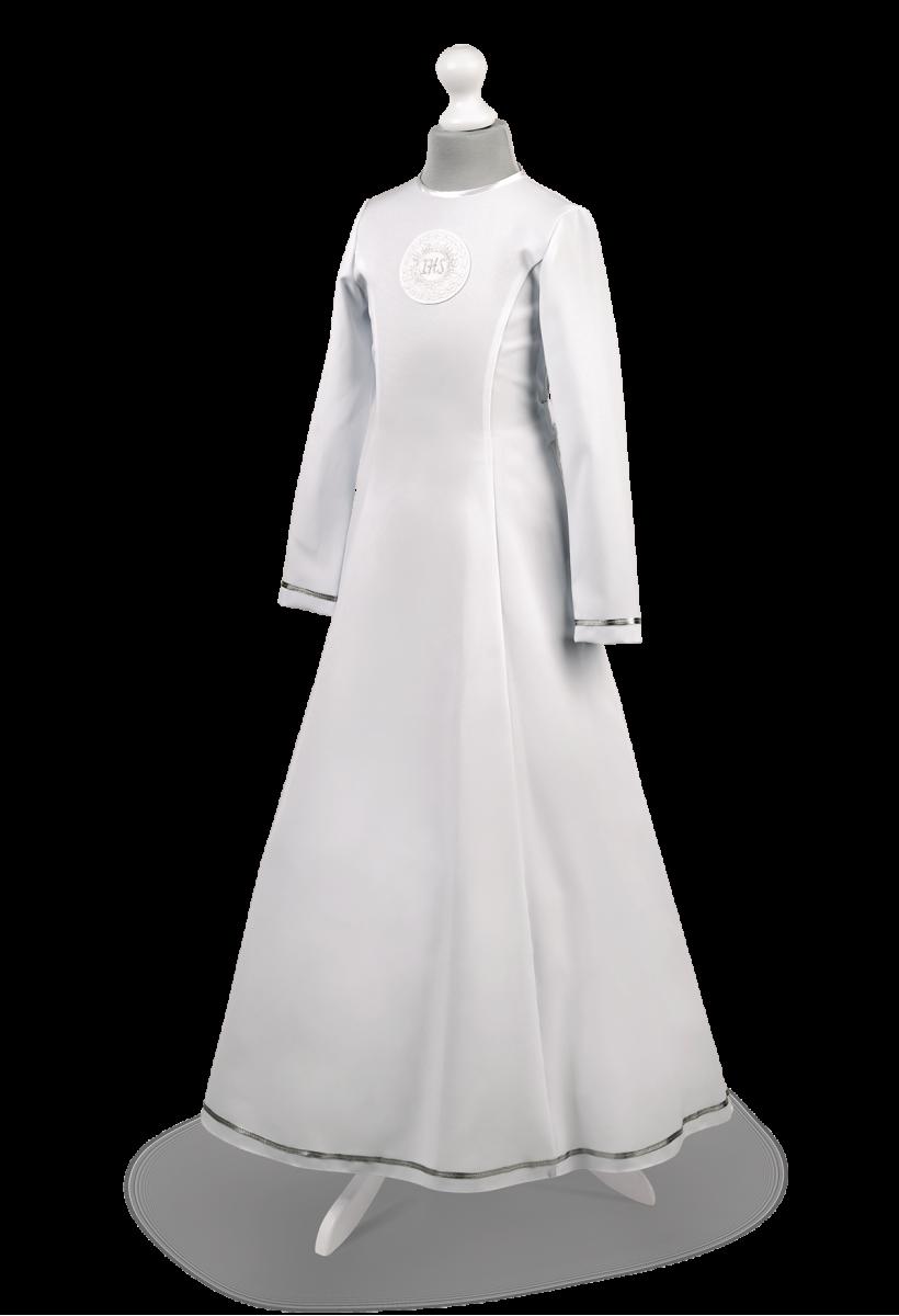 Sukienka komunijna wiązana z tyłu Celinka SR-068