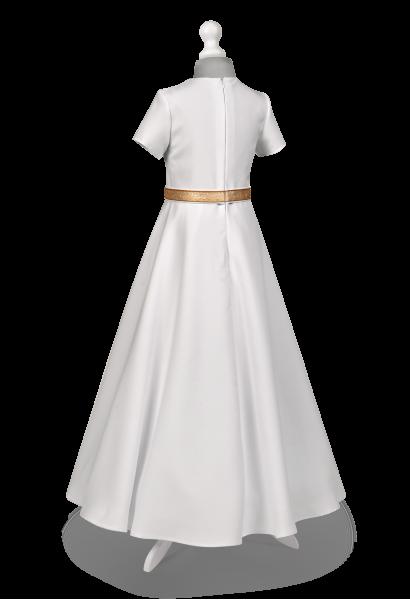 Sukienka komunijna z półkoła - Marta ZŁ-025