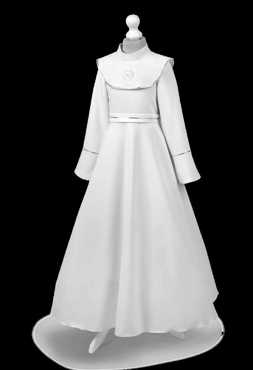 Zuzia SR-049 Połączenie sukienki z albą.