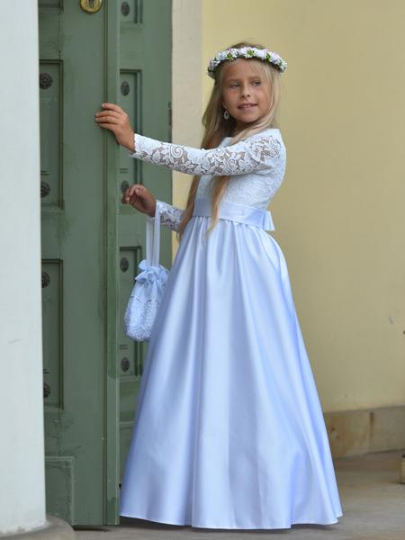 73e6dc17ab Sukienki komunijne XXL - co wybrać dla dziewczynki o zaokrąglonej ...